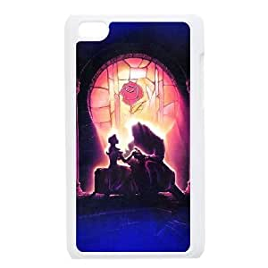 iPod Touch 4 Phone Case White Disneys Beauty and the Beast ESTY7847282