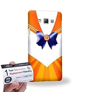Case88 [Samsung Galaxy A7] 3D impresa Carcasa/Funda dura para & Tarjeta de garantía - Sailor (Series Moon) Venus Art9040