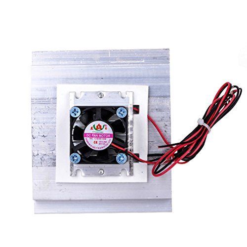 SODIAL TEC-12706 Thermoelectric Peltier Refrigeration Cooling System Kit Cooler Fan DIY by SODIAL (Image #2)