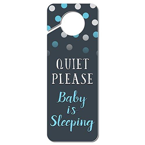 Quiet Please Sleeping Plastic Hanger