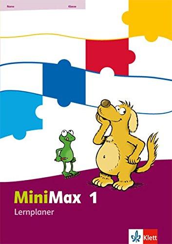 MiniMax / Lernplaner 1. Schuljahr Tageskalender – 1. März 2013 Klett 3122805049 Schulbücher für den Primarbereich