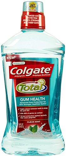 Colgate Total Gum Health Mouthwash- Clean Mint - 33.8 oz