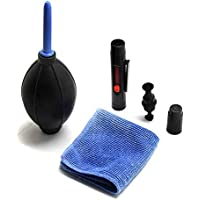 3 in 1 Lens Cleaning Cleaner Dust Pen Blower Cloth Kit For Canon/Nikon Camera