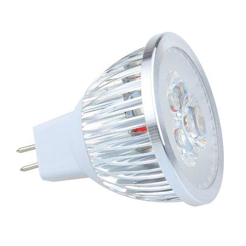 6W White Mr16 High Power Led Light Bulb Lamp 12V