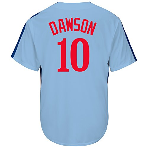 (Andre Dawson Montreal Expos Cooperstown Road Cool Base Jersey (XL))