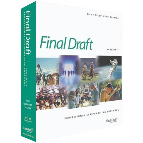 Just a quick look at final draft?
