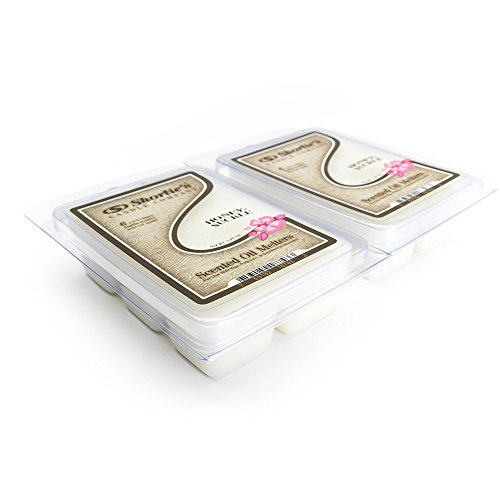 Pure Honeysuckle Wax Melts 2 Pack - Highly Scented - Made with Essential & Natural Oils - Similar to Yankee Candle Tarts or Scentsy Bars - Floral Warmer Wax Cubes Collection