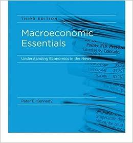 [ Macroeconomic Essentials: Understanding Economics in the News [ MACROECONOMIC ESSENTIALS: UNDERSTANDING ECONOMICS IN THE NEWS BY Kennedy, Peter ( Author ) Aug-06-2010[ MACROECONOMIC ESSENTIALS: UNDERSTANDING ECONOMICS IN THE NEWS [ MACROECONOMIC ESSENTIALS: UNDERSTANDING ECONOMICS IN THE NEWS BY KENNEDY, PETER ( AUTHOR ) AUG-06-2010 ] By Kennedy, Peter ( Author )Aug-06-2010