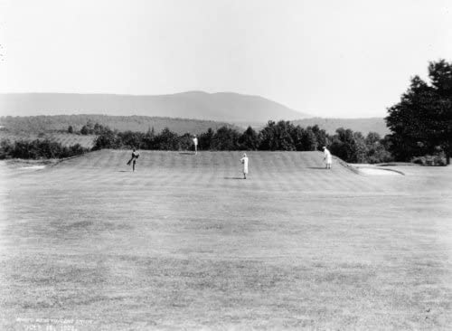 Amazon Com 1929 Photo Second Green On The Golf Course Eagles Mere Pa Vintage Black F3 Photographs