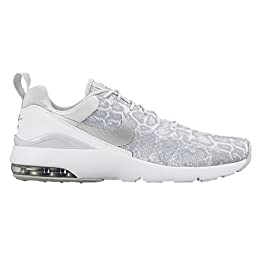 Nike Air Max Siren Print (Pure Platinum/White/Metallic Silver) Womens Classic Shoes (Pure Platinum/White/Metallic Silver)