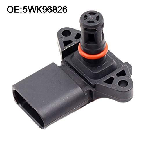 Star-Trade-Inc - Intake Air Pressure Sensor For Audi Seat Skoda V W 5WK96826 03D906051 03D906051A PW811648 5WK96932 Map Sensor