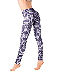 MD Yoga Printed Pant And Sports Leggings For Women Ideal For Workout Running Dancing