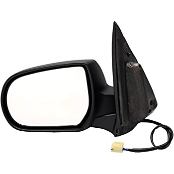 Partslink Number MA1321126 OE Replacement Mazda Tribute Passenger Side Mirror Outside Rear View