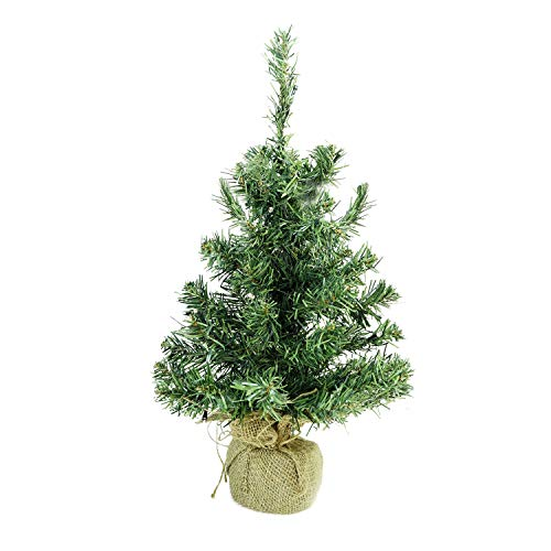 (Northlight Pre Lit Mixed Pine Artificial Christmas Tree in Burlap Base Clear LED Lights 18