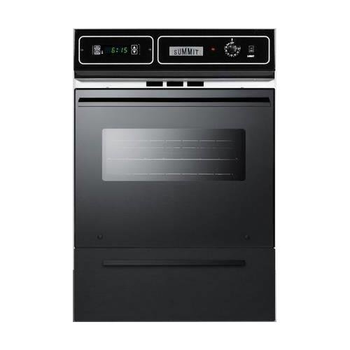 Summit TTM7212KW Kitchen Cooking Range, Black