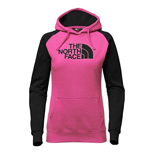 The North Face Women's Half Dome Hoodie - Raspberry Red/TNF Black (Large) (Hoodie Raspberry)