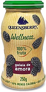 Geleia de Amora Queensberry Wellness 250g