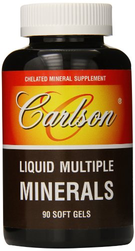 Carlson Liquid Multiple Minerals Count