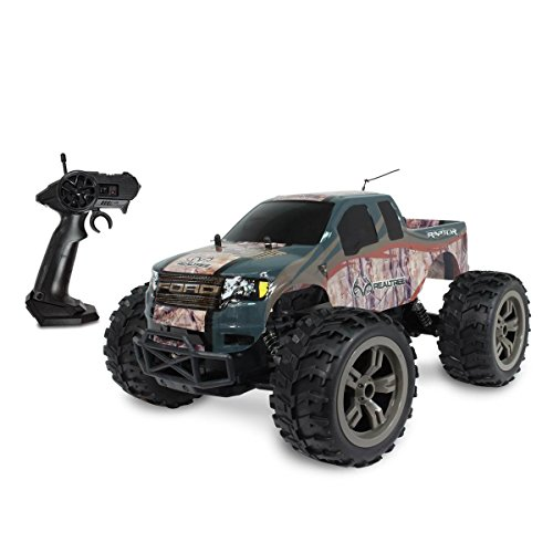 Realtree Full Function Remote Control Trucks 1:10 R/C Ford F150 Raptor (Control Raptor Remote Truck)