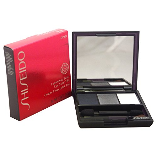 Luminizing Satin Eye Color - Shiseido Luminizing Satin Eye Color Trio Shadow for Women, No. GY901 Snow, 0.1 oz