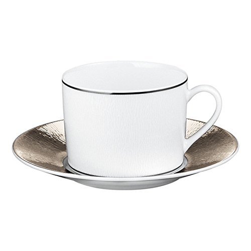 Bernardaud Limoges Dune Tea cup & Saucer (1 each)