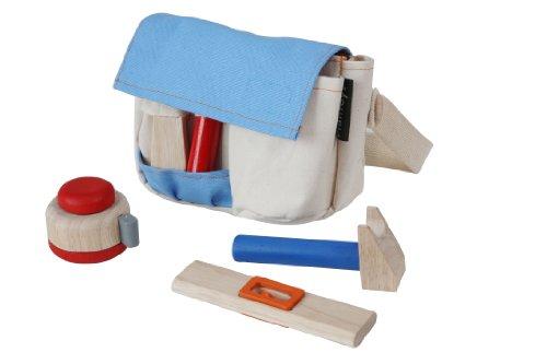 [Plan Toys Planactivity Tool Belt Play Set] (Tool Belt Costume)