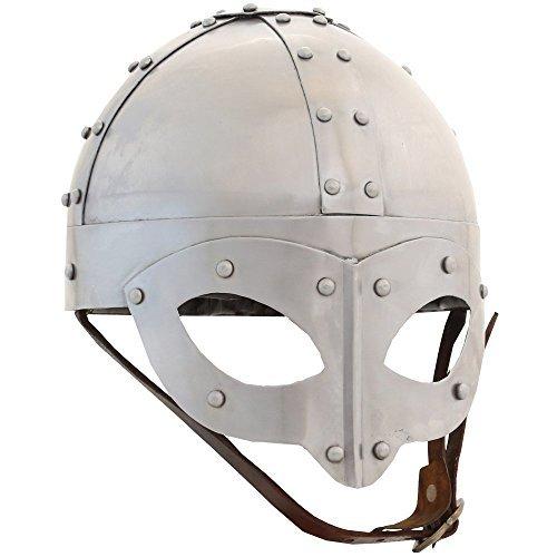 Ectoria EC01-053 Viking Spectacle Helmet (LARP / SCA / Medieval / Roman Reenactment Costume (Steel Helmet Roman)