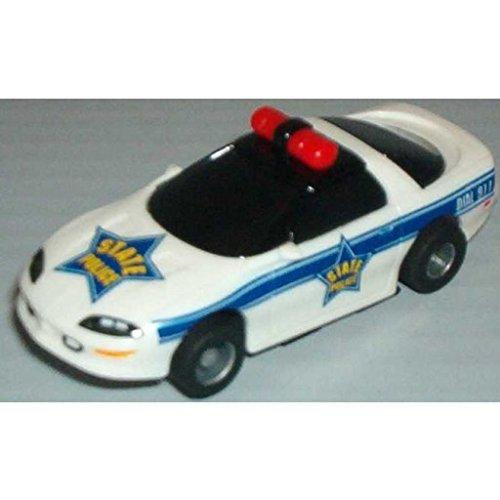 TYCO HO Scale 440x2 Camaro Police Car Slot Car (15029B)