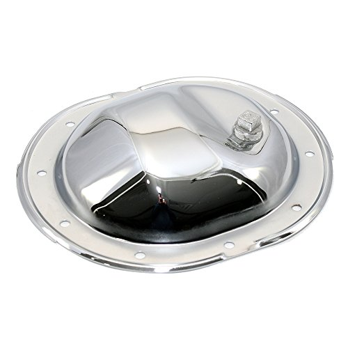 Chrysler Rear Bolt - Assault Racing Products A9589 Chrysler/Plymouth/Dodge 10 Bolt 8.25in Ring Gear Chrome Steel Rear Differential Cover