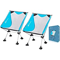 MOON LENCE Outdoor Ultralight Portable Folding Chairs...
