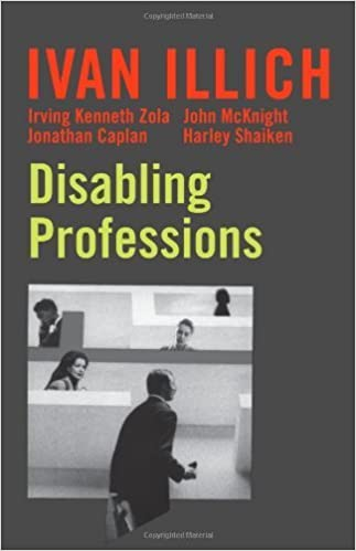 Book Disabling Professions (Ideas in Progress) – July 1, 2000