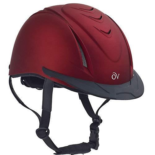Ovation Metallic Schooler Helmet M/L Red