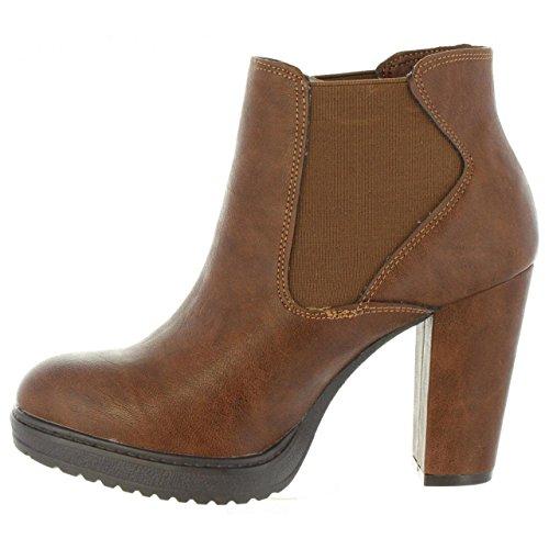 Refresh Stiefel für Damen 63717 C Camel