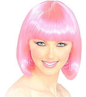 A Labs Bob Wig - Party Wig - Pink Bob Wig - Cosplay Hair Wig for