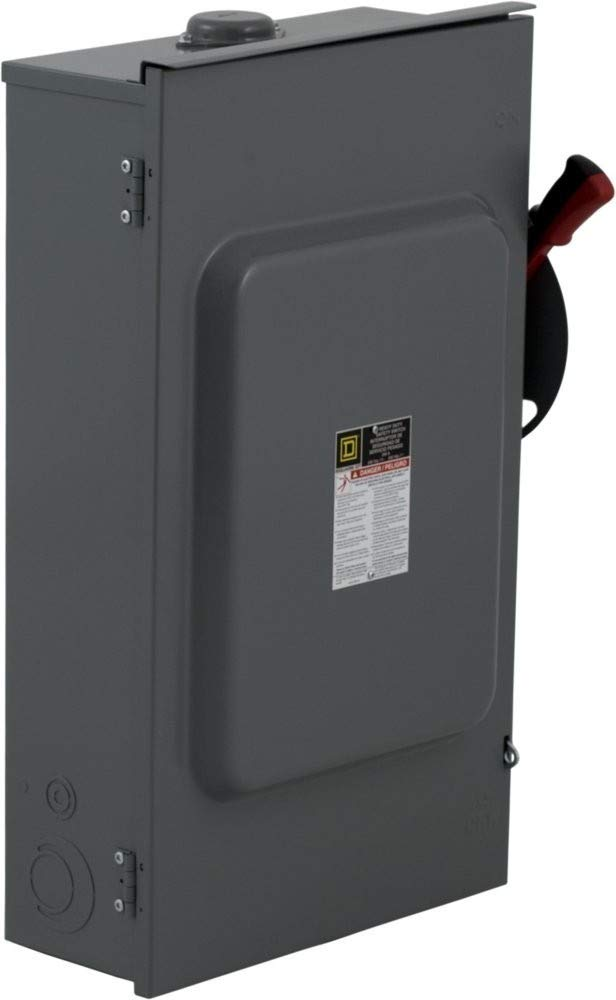 SQUARE D HU364RB U 200A 600V 3Ph NN3R Used