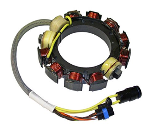 - NEW JOHNSON EVINRUDE STATOR FITS 150HP-175HP 91-2006 35AMP 584109 584981 173-4981