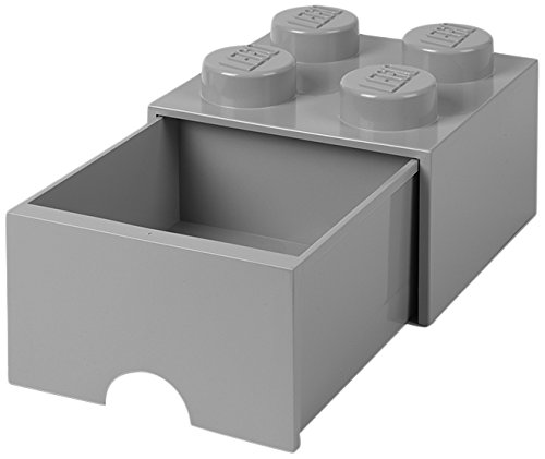 LEGO Brick Drawer 4 Stone Gray by LEGO