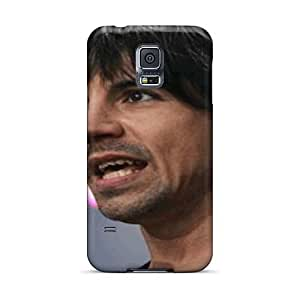Samsung Galaxy S5 ZUr18427gLSa Allow Personal Design Fashion Red Hot Chili Peppers Series Perfect Cell-phone Hard Cover -RichardBingley