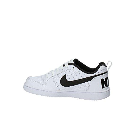 Nike Court Borough Low (GS), Zapatos de Baloncesto Unisex Niños Blanco