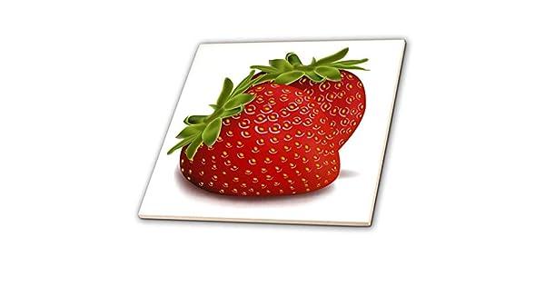 8-inch 3dRose 3D Rose Two Strawberries ct/_101260/_3 8 Ceramic Tile