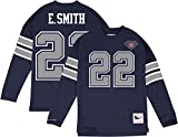Dallas Cowboys Emmitt Smith NFL Mitchell & Ness Jersey Inspired Knit Top Men's (Large)