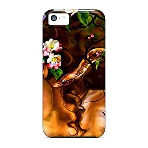 New Arrival Premium 5c Case Cover For Iphone (mysterious Beauty)