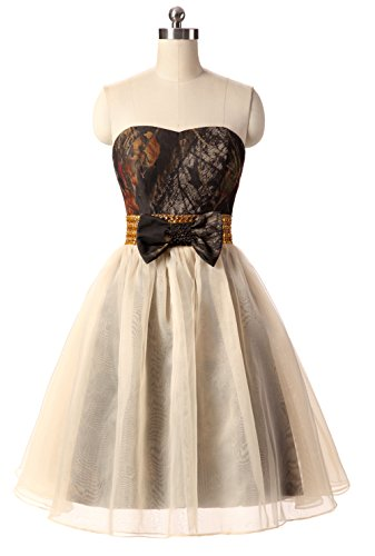 Snowskite Womens Sweetheart Short Camo Tulle Prom Party Homecoming Dress 2