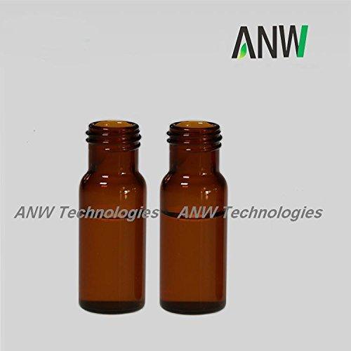 de opening short screw-thread vial, Amber, 11.6x32mm, 100 pcs/pk (Agilent Short)