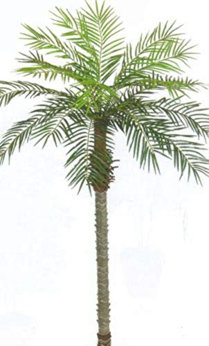 - 7' Artificial Phoenix Palm Tree Plant Pool Patio SAGO Coconut Areca Date Topiary