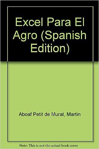 Descargas gratis de libros de audio mp3. Excel Para El Agro 9879260287 en español PDF DJVU FB2