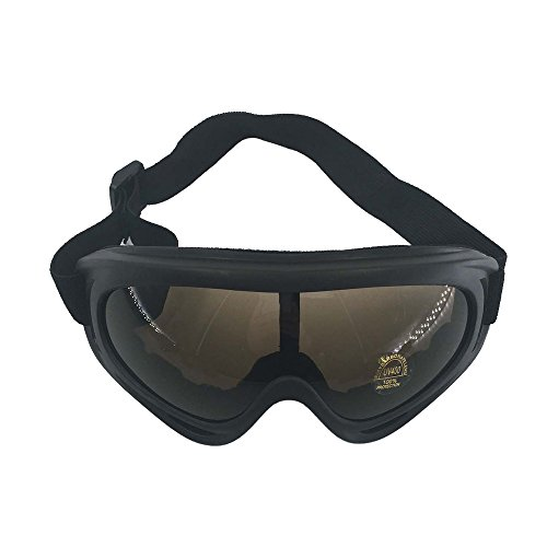 Ski Army Tactical Military Goggles-Outdoor Protective Windproof UV400 Glasses-Sports Snowmobile Bicycle Motorcycle Safety - 2 Goggles Eg