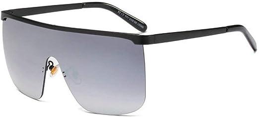OVERSIZE VINTAGE RETRO DESIGNER Style SUN GLASSES Square Flip Up Frame Dark Lens