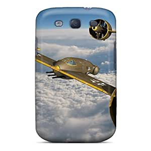 Jeffrehing Premium Protective Hard Case For Galaxy S3- Nice Design - Amazing Flight
