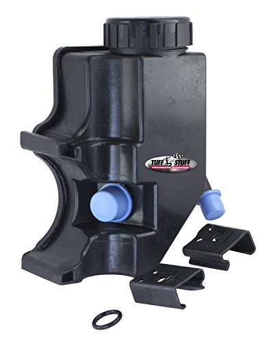 Tuff Stuff 6175ARES Type-II Power Steering Pump Reservoir, Black